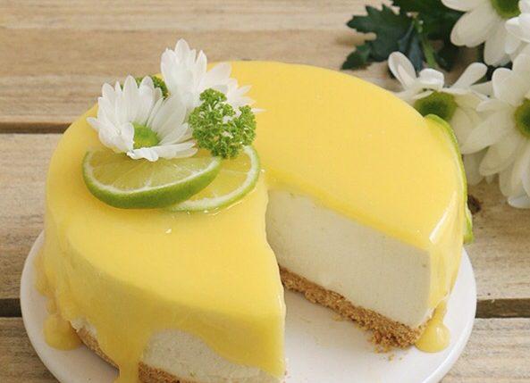 วิธีทำ] ชีสเค้กมะนาว by ขนมชวนหิว